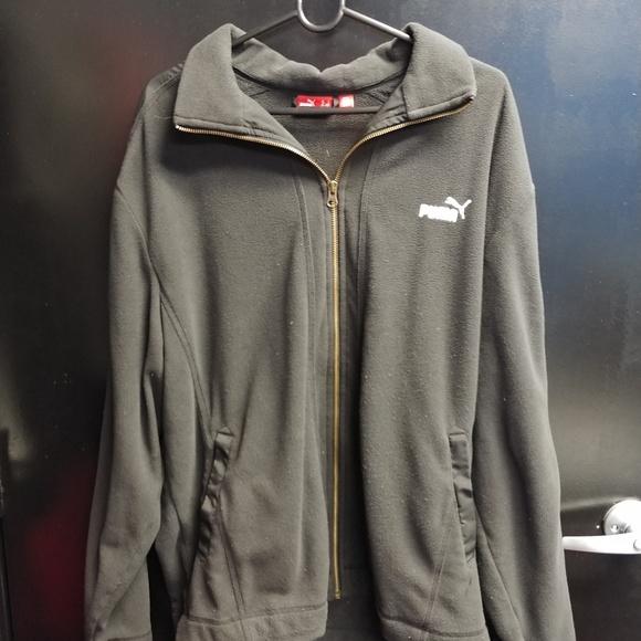 378acac4f8 Puma Mens Jacket Fleece Size Large Black